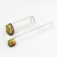 Serological Tubes With Aluminum Screw Cap