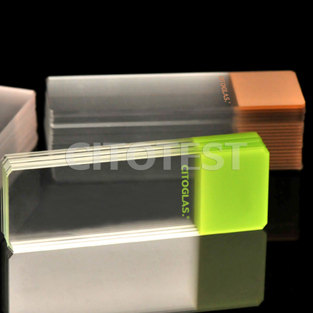 ColorCoat Microscope Slides