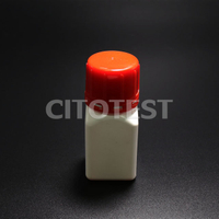 Narrow-mouth Square Bottle, HDPE Material
