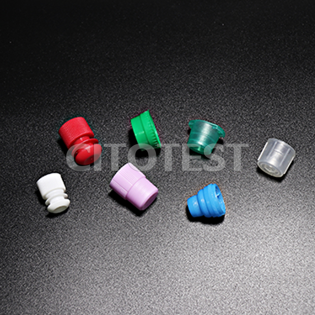 Plastic Test Tube Stopper & Cap